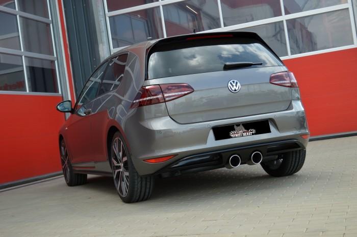 76mm Duplex-Anlage mit Soundgenerator für VW Golf VII GTD