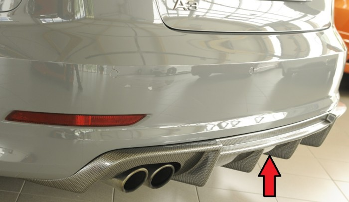 Rieger Heckeinsatz für Audi A3 (8V) - 4931