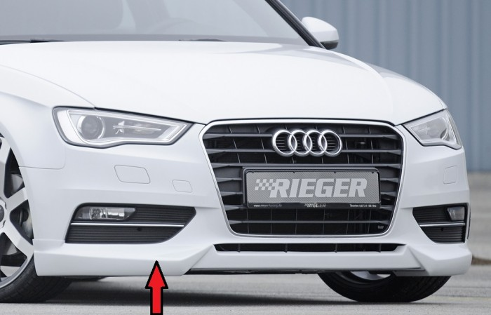 Rieger Spoilerlippe für Audi A3 (8V) - 7455