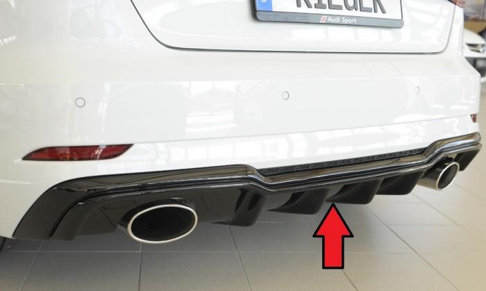 Rieger Heckeinsatz für Audi A3 (8V) - 5885